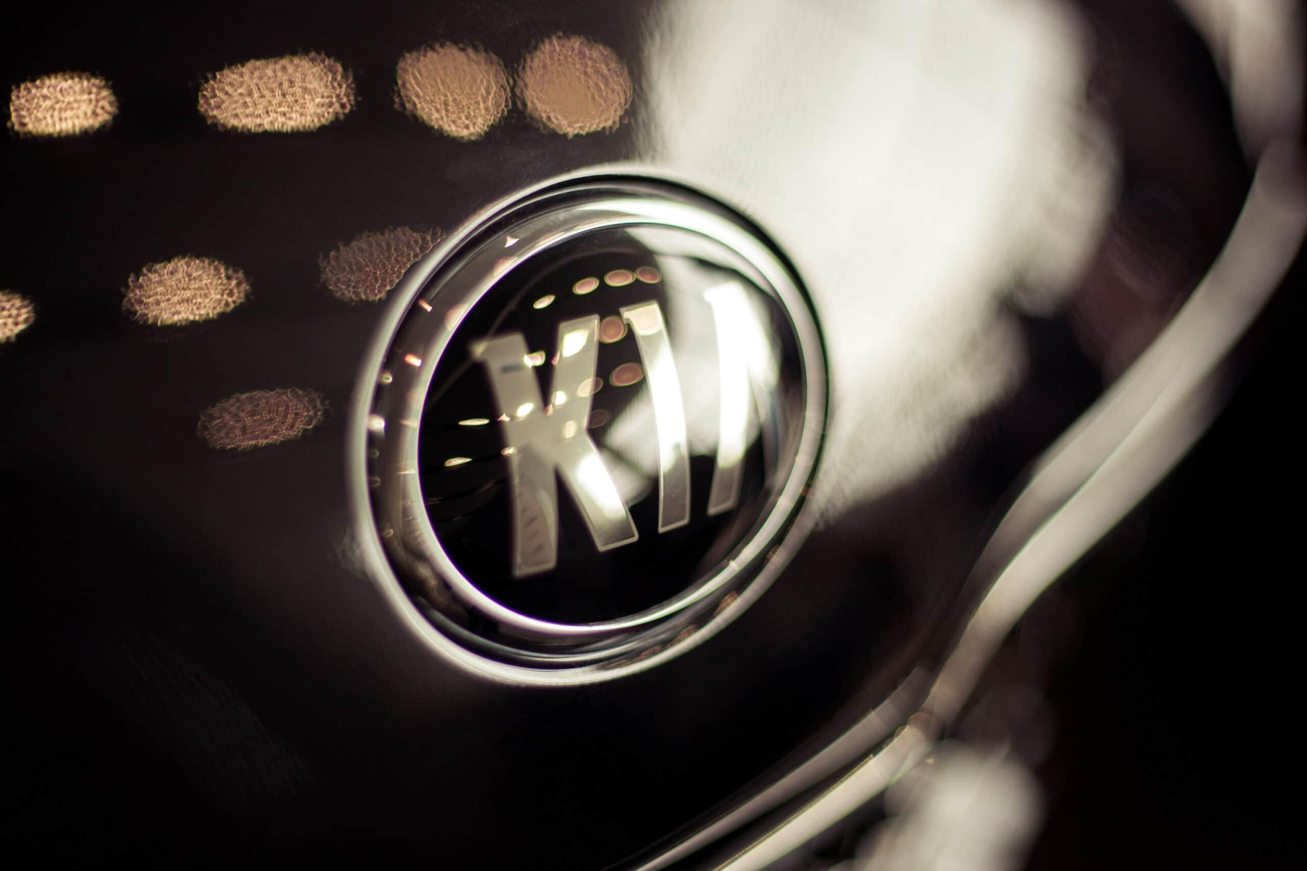 Marca da Kia em uma Sportage