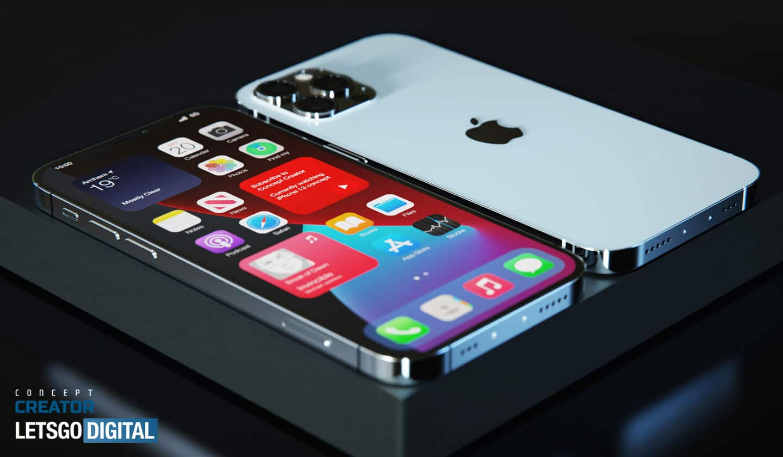 "Conceito de ""iPhone 12s Pro"""