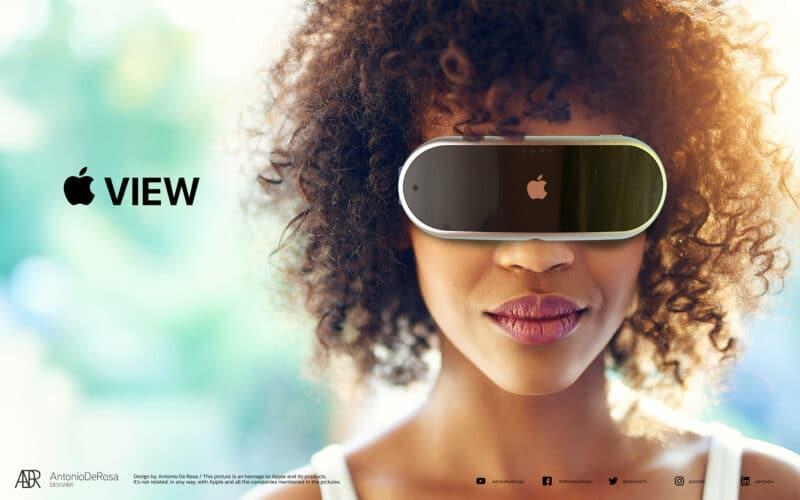 "Conceito de ""Apple View"""