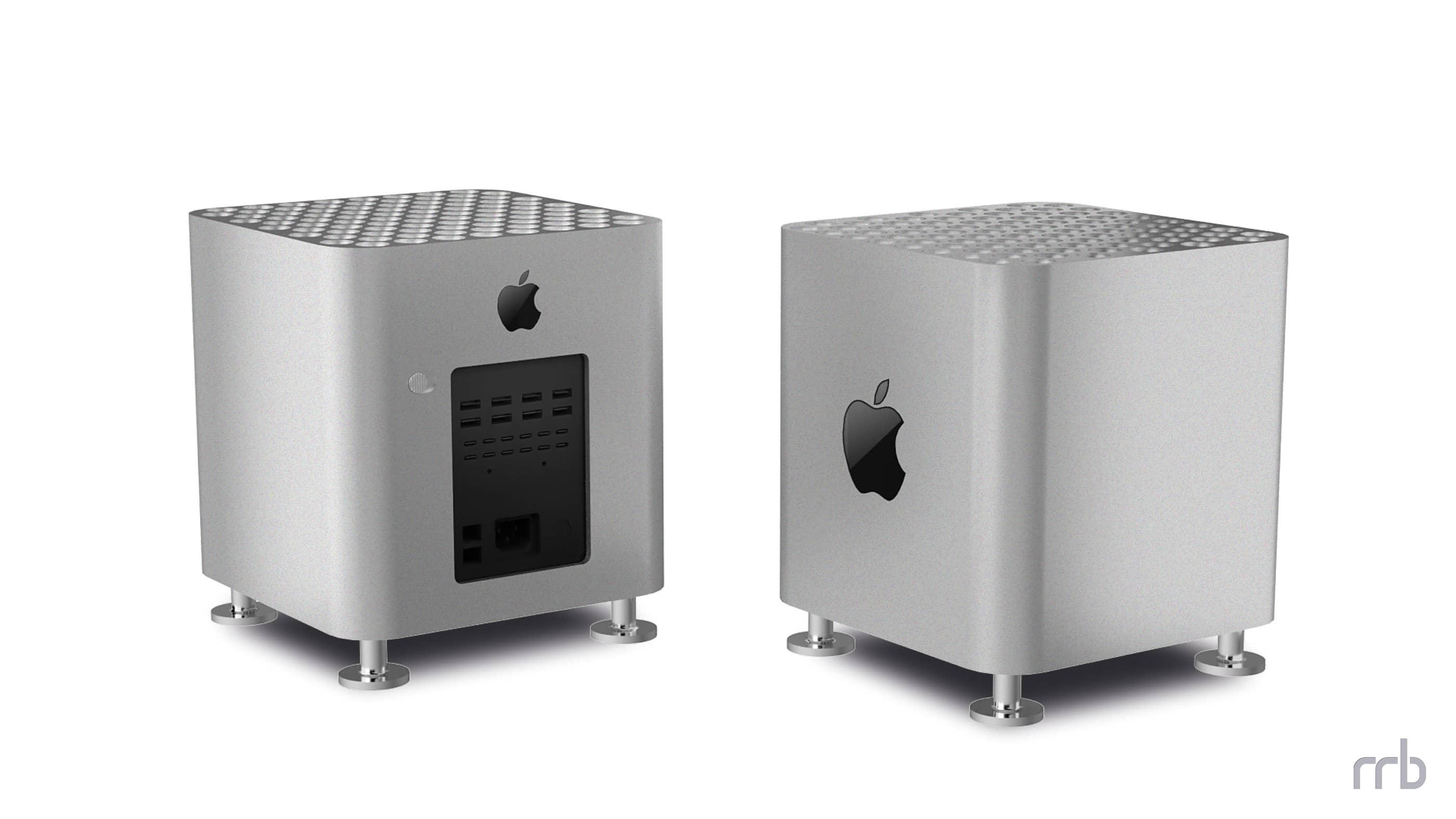"""Concepto de """"Cubo Mac Pro"""""""