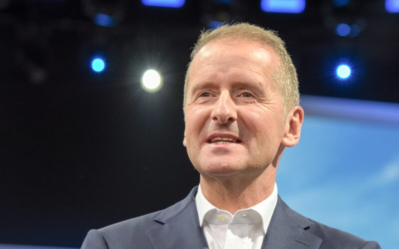 Dr. Herbert Diess, CEO da Volkswagen