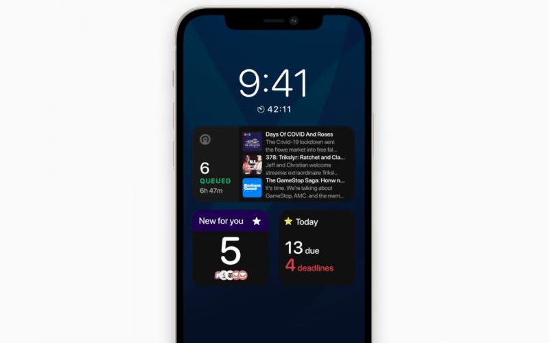 "Conceitos para Tela Sempre Ativa dos ""iPhones 13"""