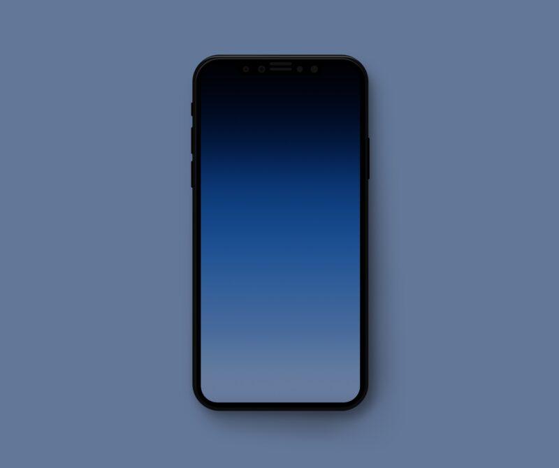 iPhone sem recorte frontal