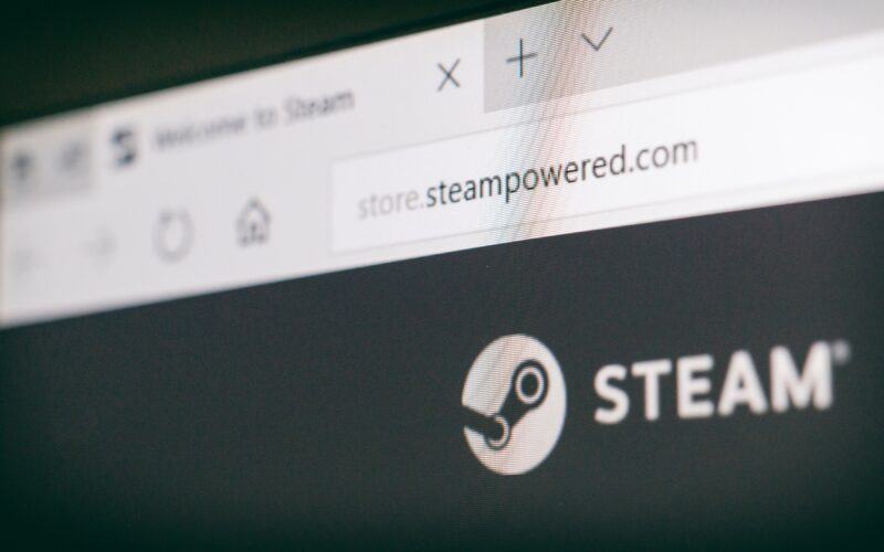 Foto do site do Steam (Valve)