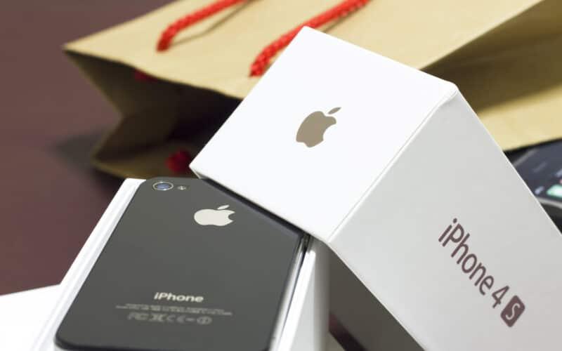 Caixa original do iPhone 4s