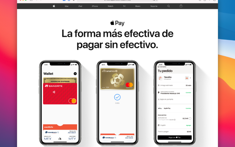 Apple Pay no México