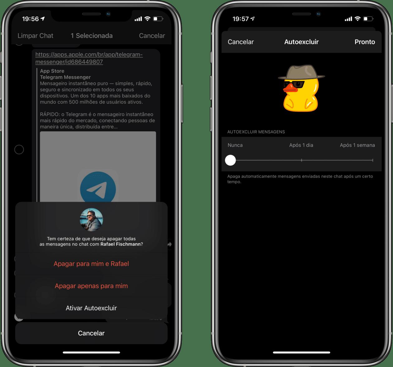 Novidades do Telegram 7.5