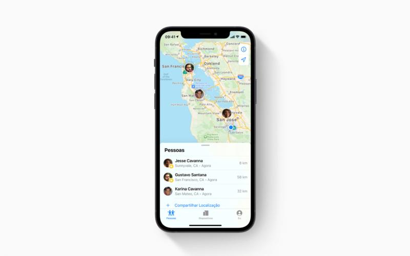 App Buscar (Find My)