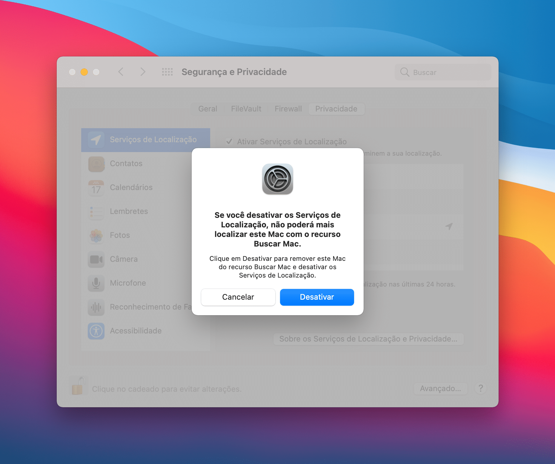 Localização no macOS