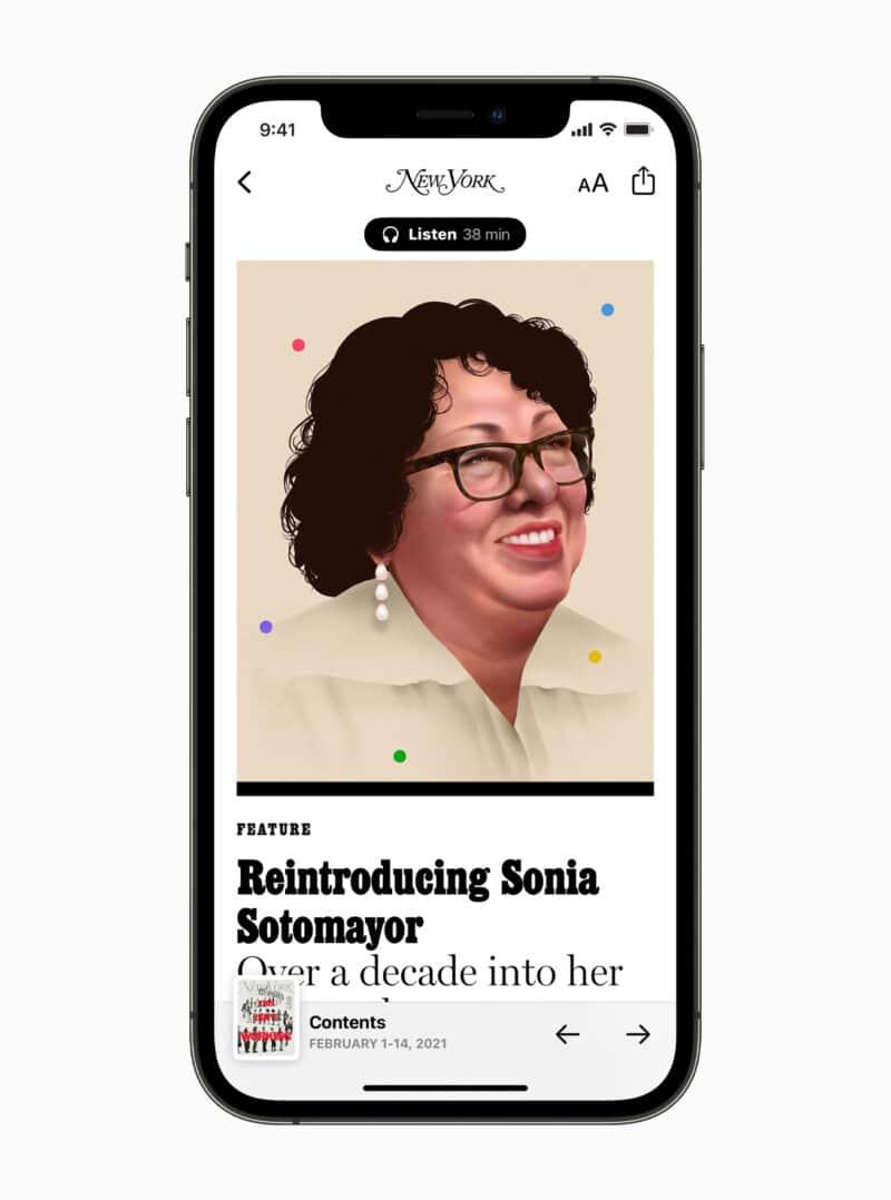 Celebrações da Apple no Dia Internacional da Mulher de 2021