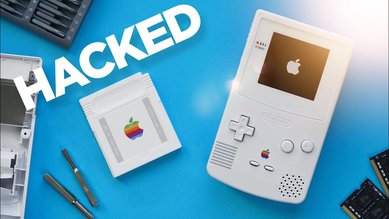 Game Boy Color transformado em controle da Apple TV