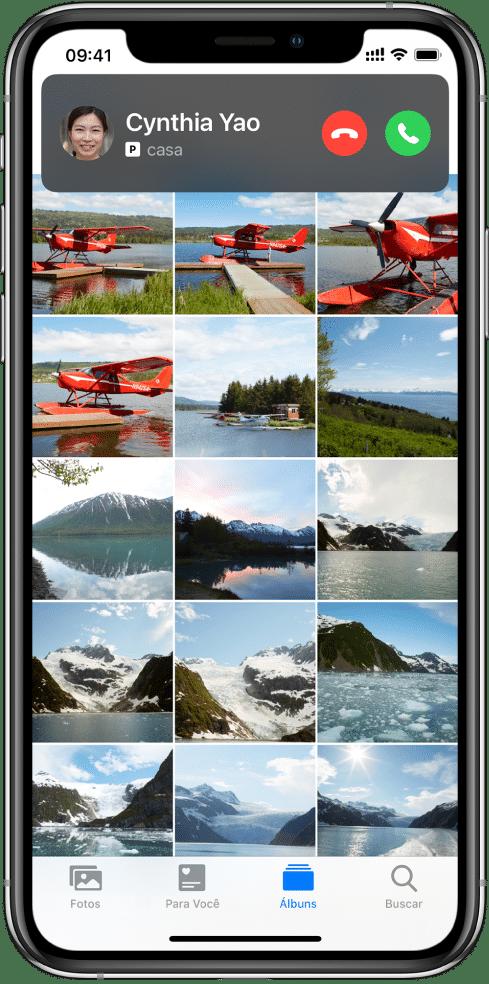 Ligações compactas no iOS 14