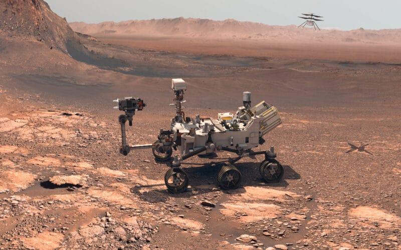 Perseverance, rover da NASA em Marte