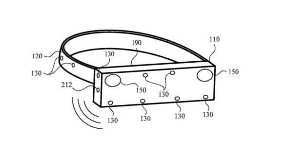 Patente de dispositivo com detecção de som