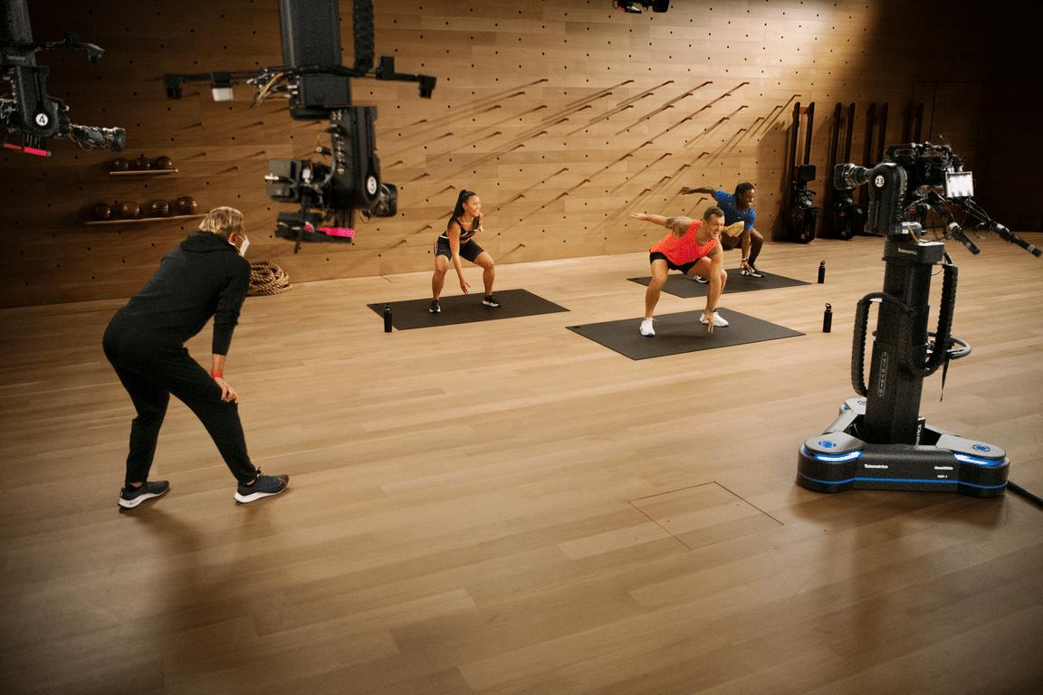 Estúdio do Apple Fitness+