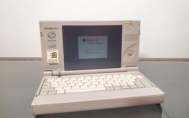 Toshiba Libretto 50ct com Rhapsody OS