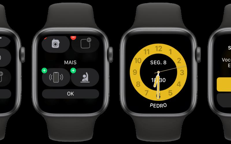 Ativando o Horário Escolar no Apple Watch