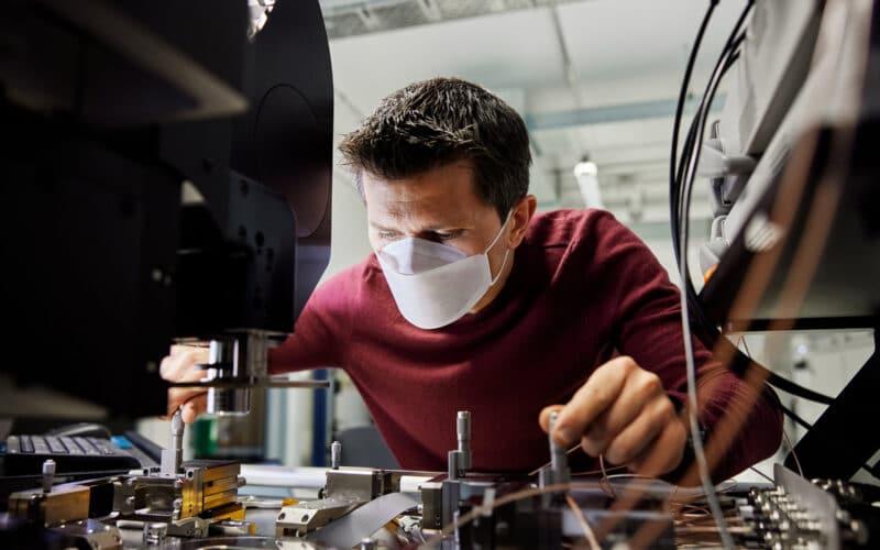 Centro de pesquisa e desenvolvimento de chips da Apple