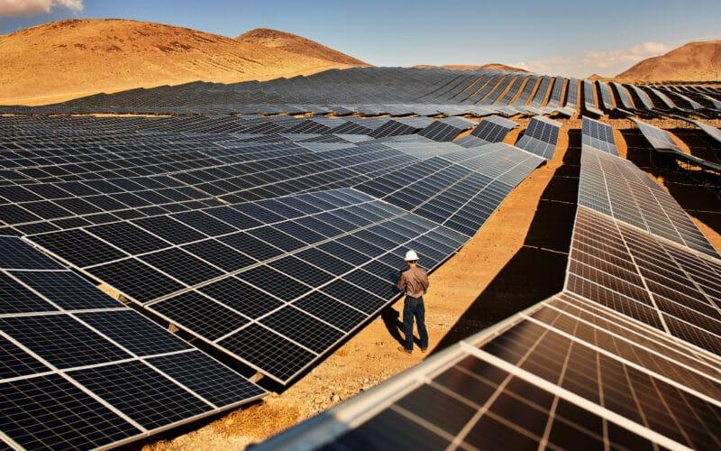 Parque de energia solar