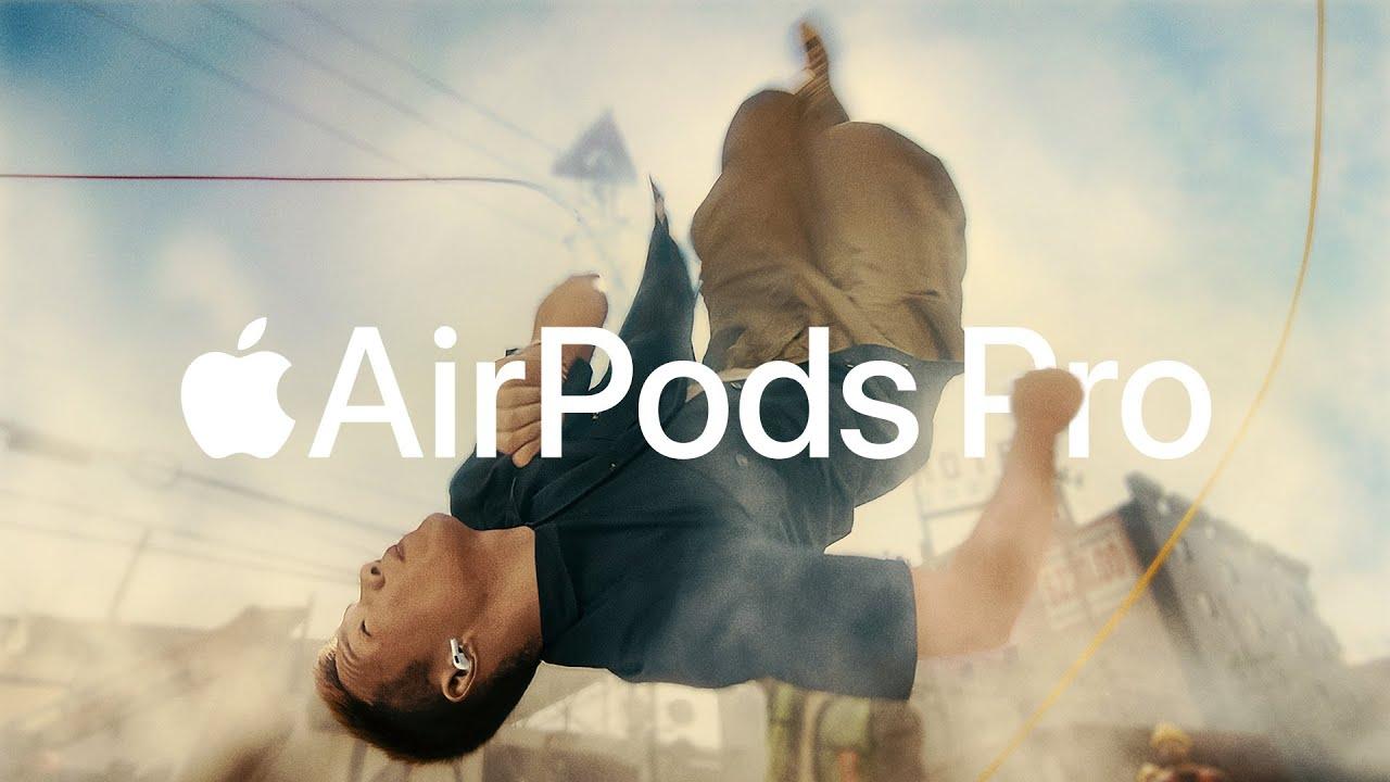Comercial dos AirPods Pro