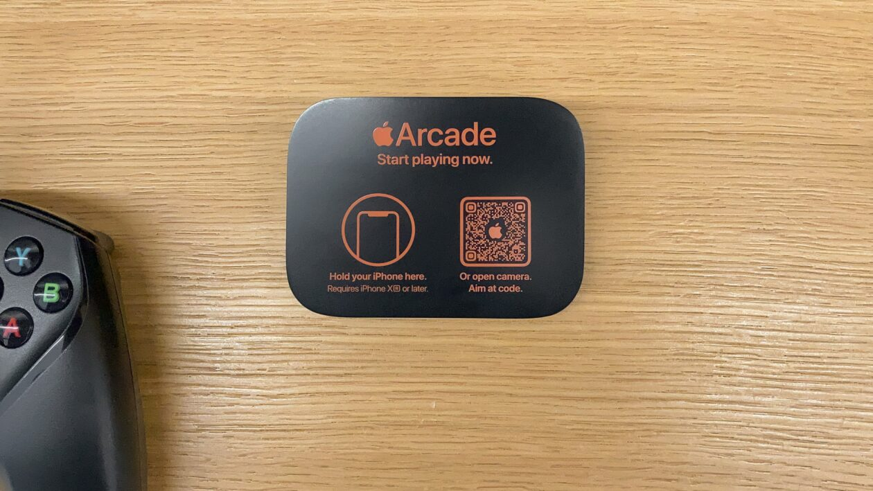 Tag NFC e QR Code do Apple Arcade
