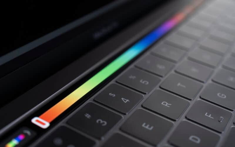 Touch Bar do MacBook Pro