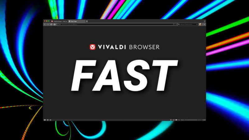 Navegador Vivaldi para macOS