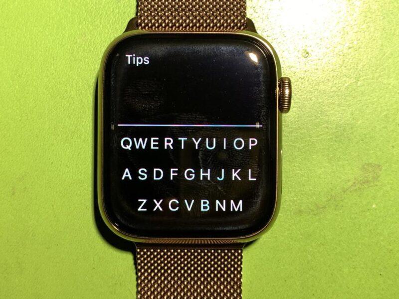 FlickType no Apple Watch