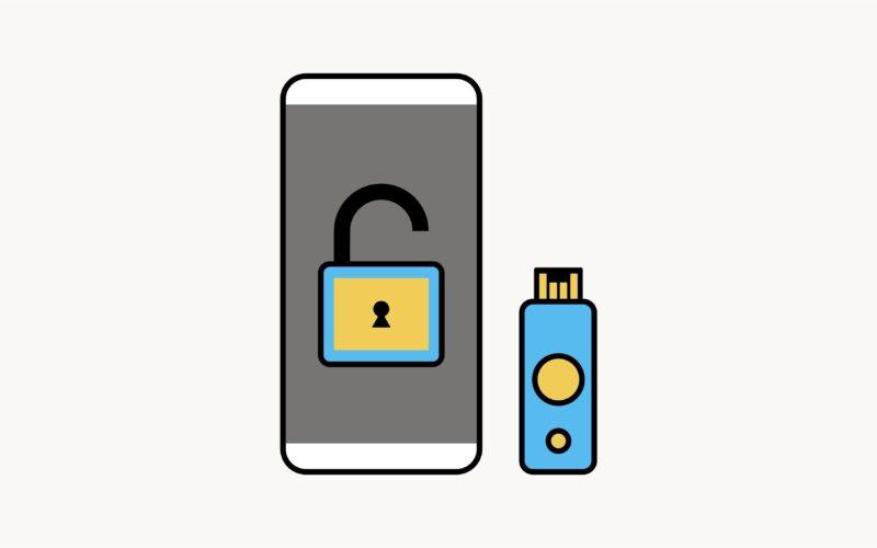 Login no Facebook com chaves de segurança