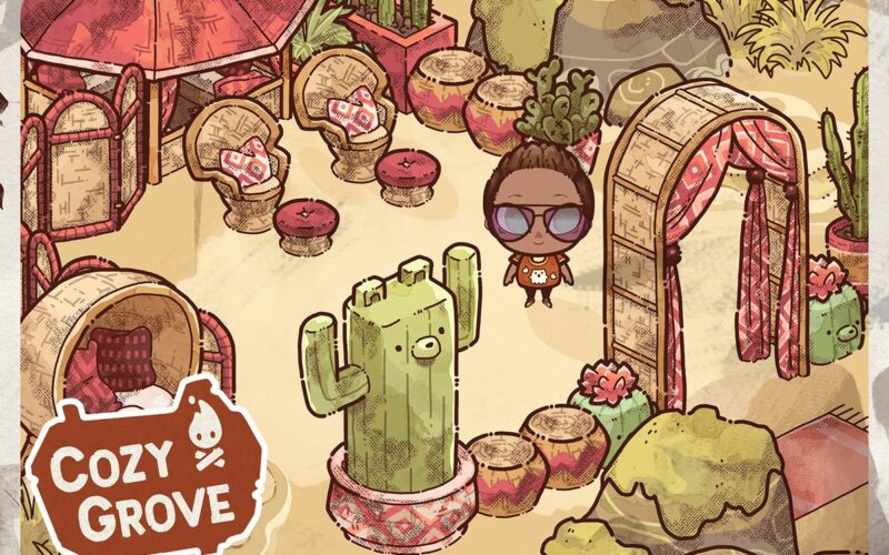 Cozy Grove, jogo do Apple Arcade
