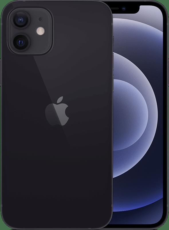 iPhone 12 mini na cor preta