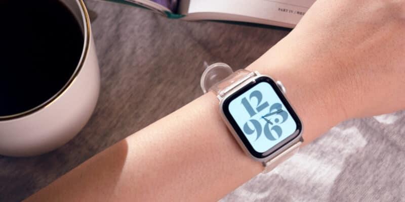 Pulseira transparente para Apple Watch da elago