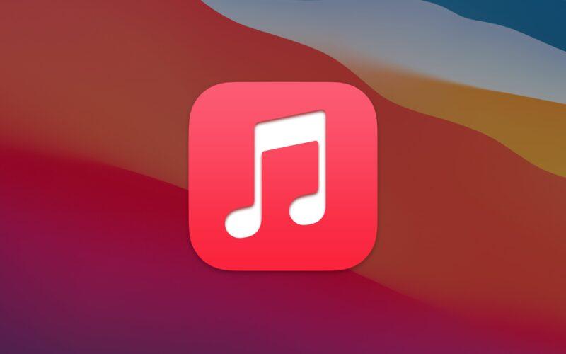 Ícone do app Música no macOS