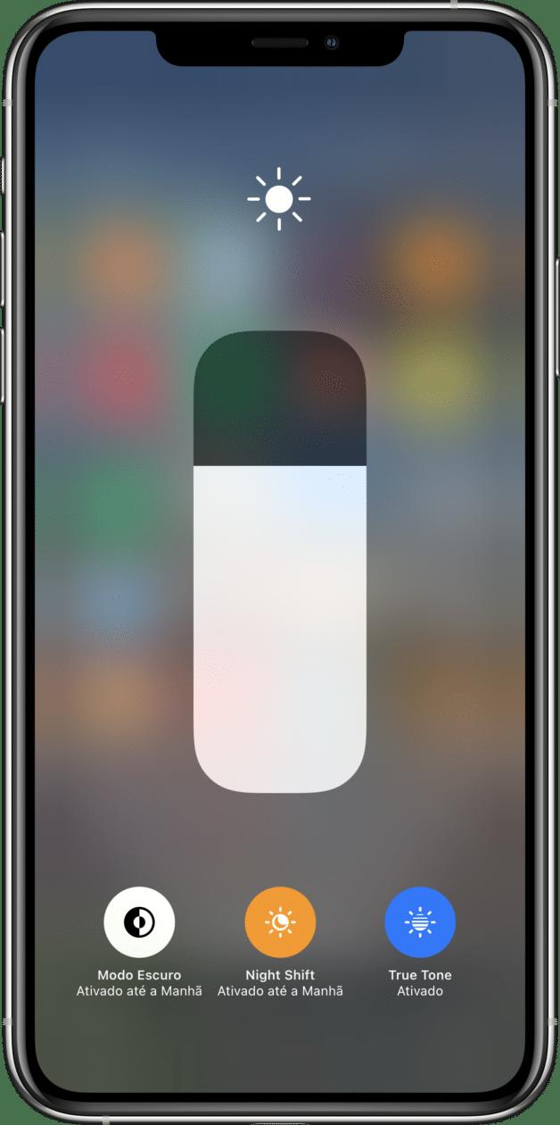 Modo Escuro no iPhone