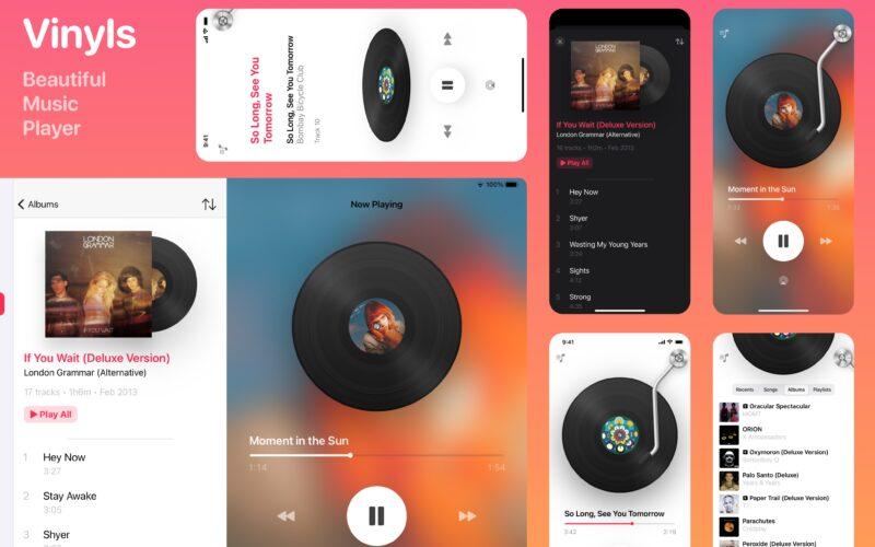 App Vinyls para Apple Music