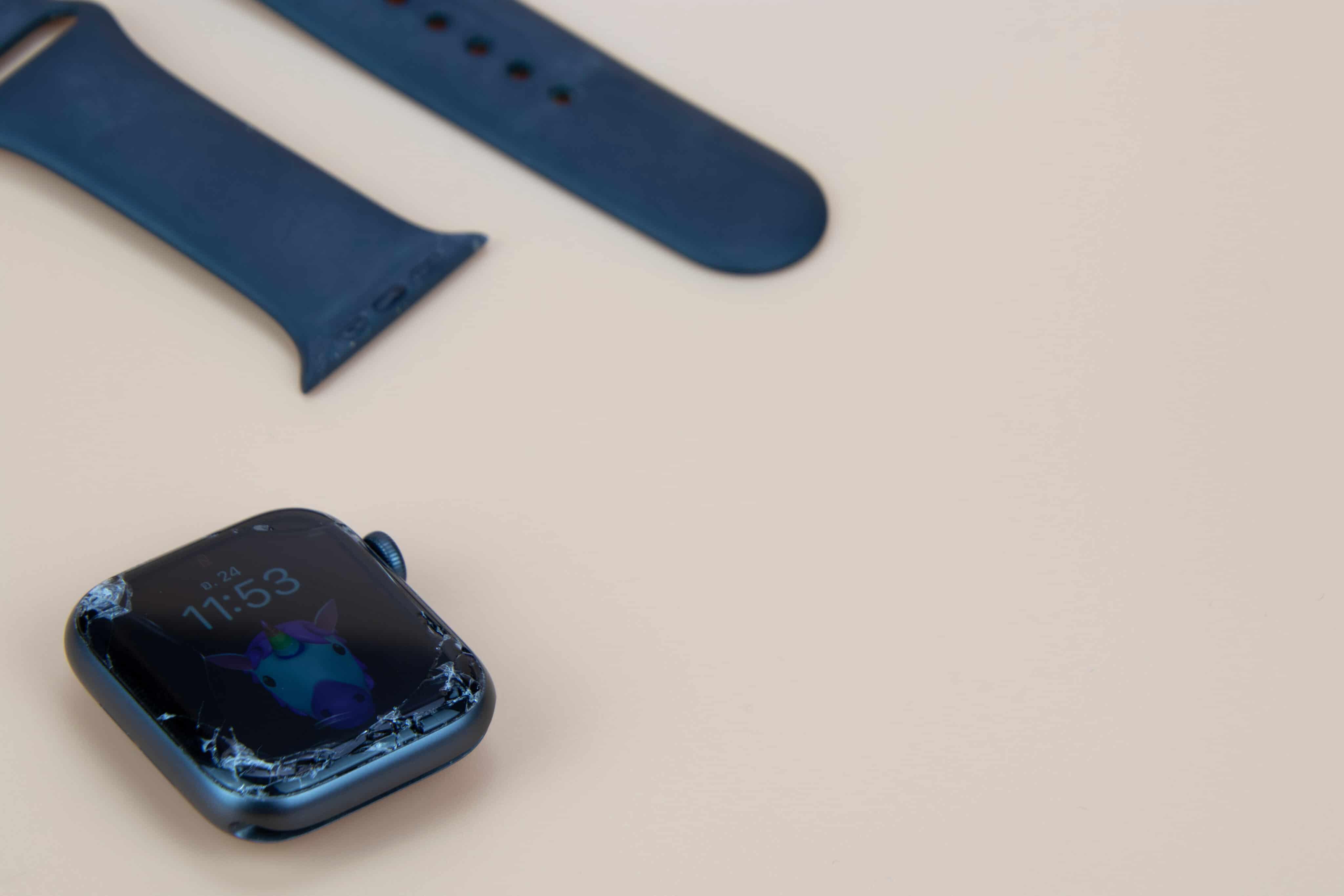 Apple Watch quebrado