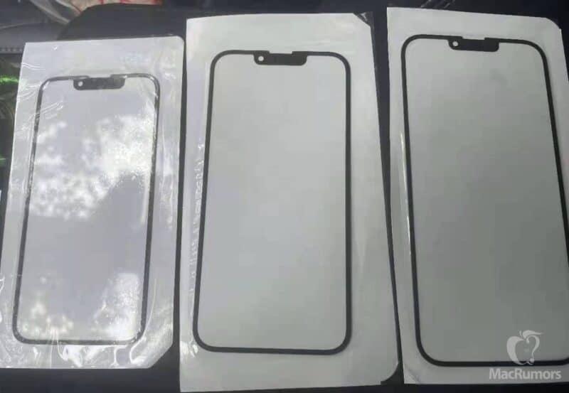 """Suposto notch dos """"iPhones 13"""""""