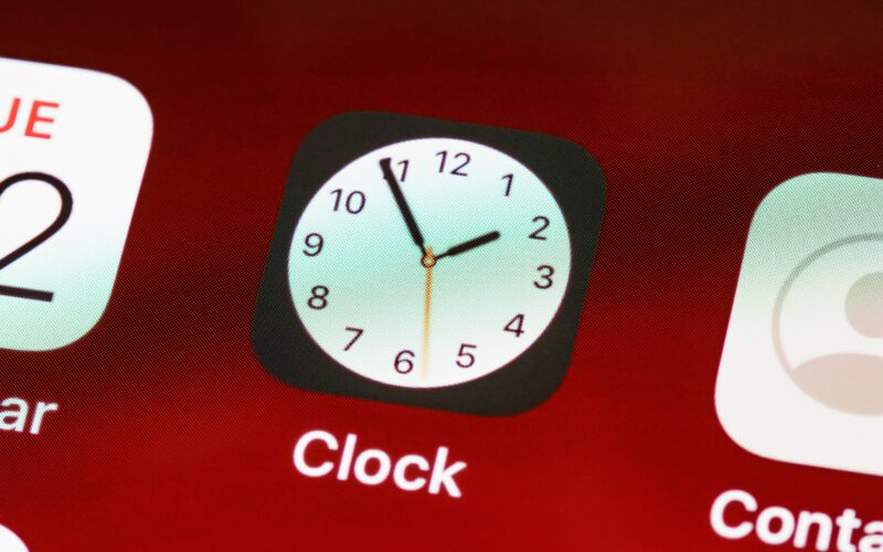 App Relógio no iOS