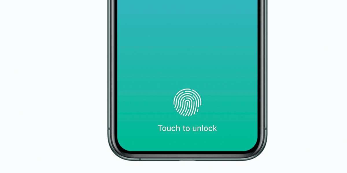 Touch ID no iPhone