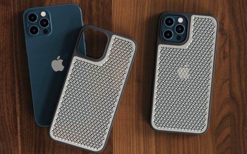 Case ralador de queijo para o iPhone 12 Pro