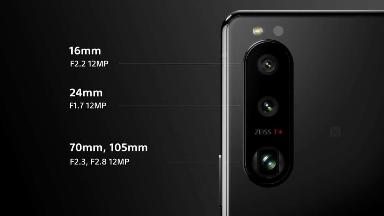 Câmera: Sony Xperia 5 III