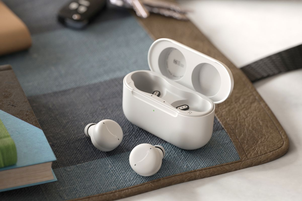 Novos Amazon Echo Buds