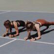 Mulheres se exercitando com Apple Watch