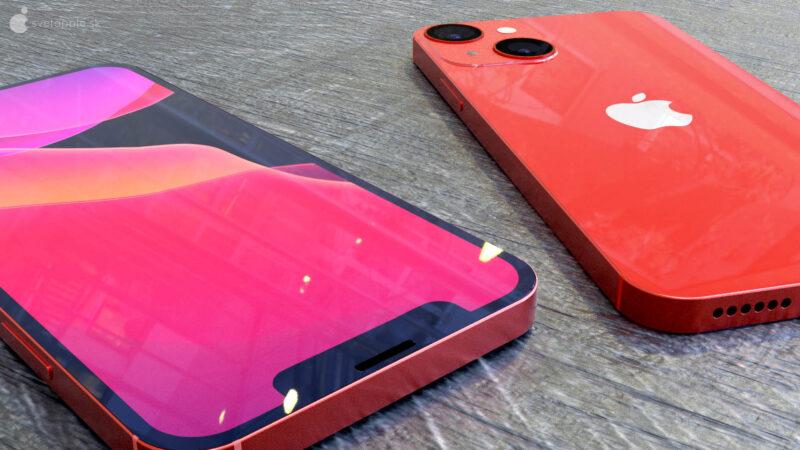 """Render de """"iPhone 13 mini"""""""