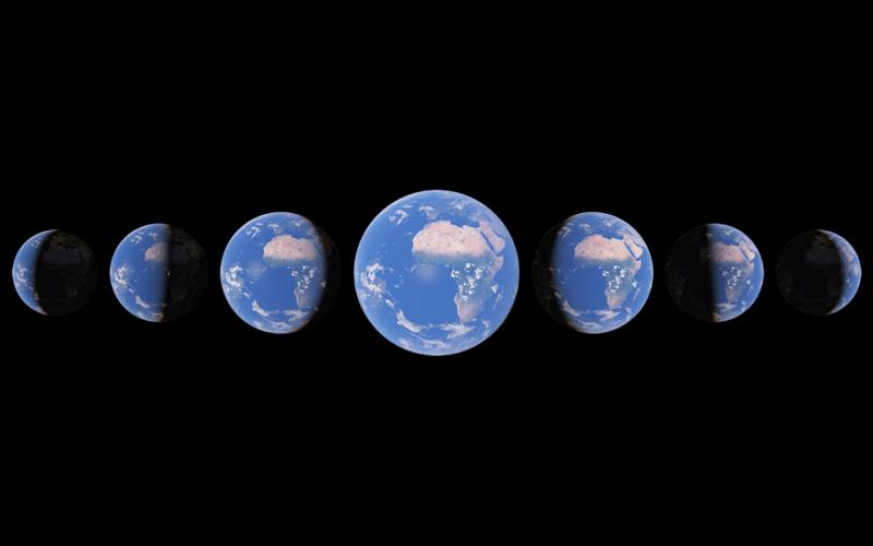 Timelapse no Google Earth