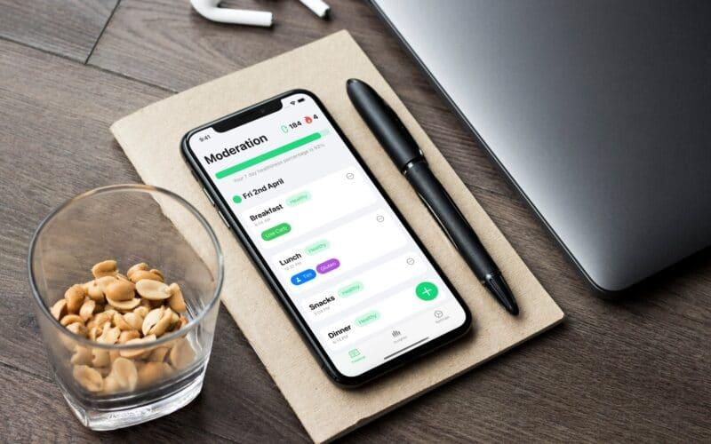 Moderation, app de diário alimentar para iOS