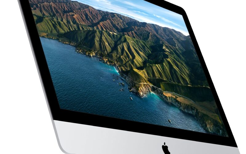 iMac de 27 polegadas de lado