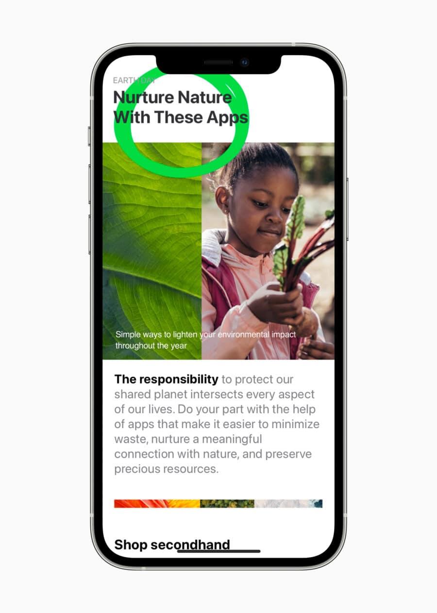 Dia da Terra na App Store