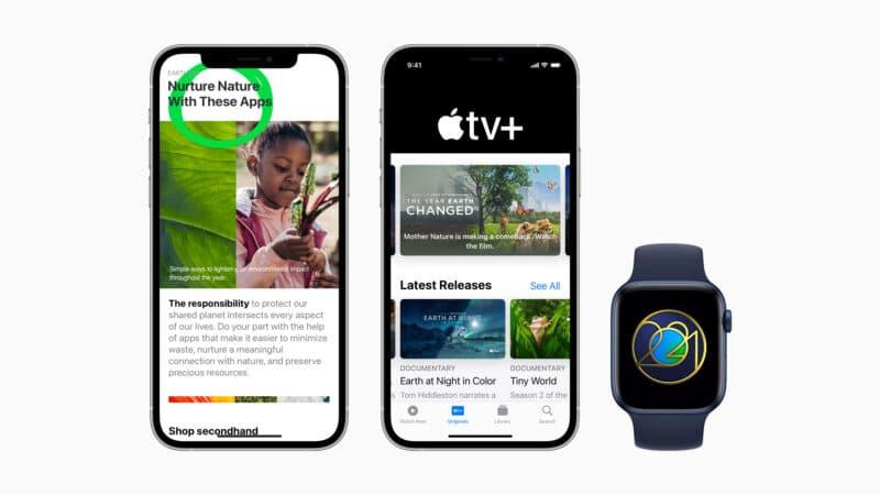 Destaques da Apple para o Dia da Terra