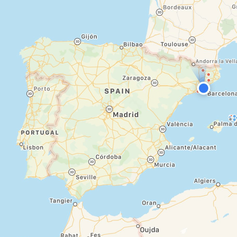 Novos Mapas da Apple - Portugal e Espanha
